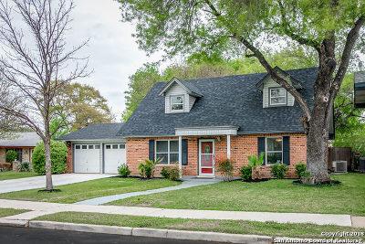 San Antonio Single Family Home Back on Market: 9522 Mider Dr