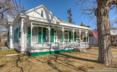 New Braunfels Single Family Home New: 878 W Mill St