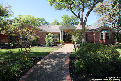 Bexar County Single Family Home New: 506 Bluffwood Dr
