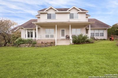 Bulverde Single Family Home New: 531 Shepherds Ranch
