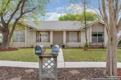 Bexar County Multi Family Home New: 8012 Echo Wind St
