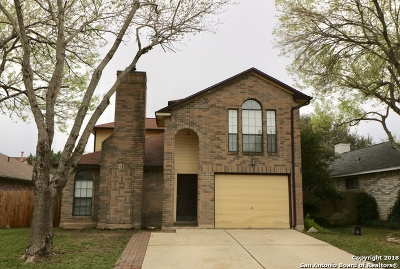 San Antonio Single Family Home New: 7530 Tantivity