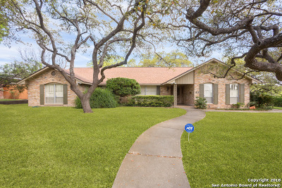 San Antonio Single Family Home Price Change: 411 Rilla Vista Dr