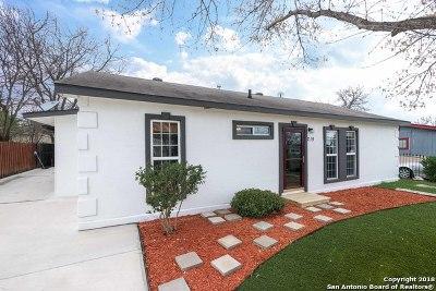 San Antonio Single Family Home New: 219 Waugh St