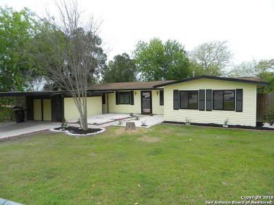 San Antonio Single Family Home New: 127 Hidden Valley Dr