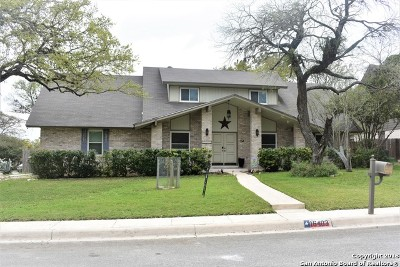 San Antonio TX Single Family Home New: $282,500