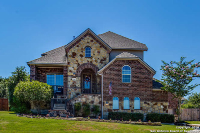 San Antonio Single Family Home New: 23702 Cibolo Cove