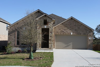 San Antonio Single Family Home New: 12614 Ponder Ranch