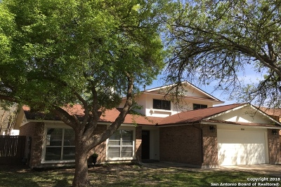 San Antonio Single Family Home New: 8350 New World