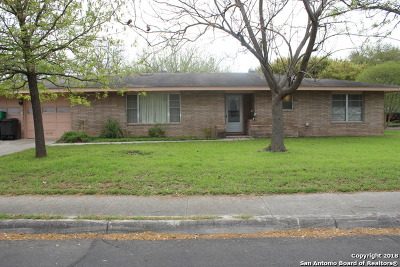 San Antonio Single Family Home New: 2722 Tyne Dr