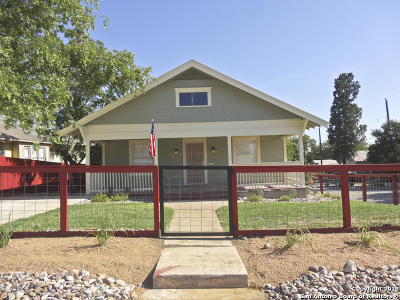 Jbsa Ft Sam Houston Single Family Home New: 802 Dakota St