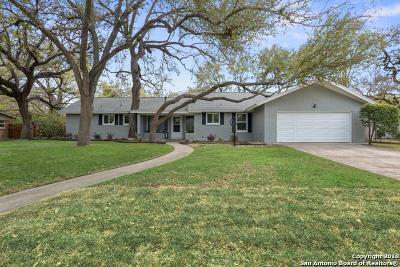 San Antonio TX Single Family Home New: $469,000