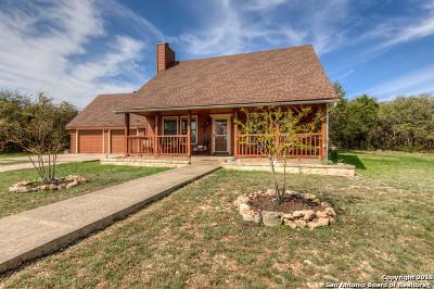 Bandera County Single Family Home New: 7848 Fm 1283