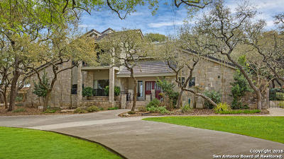 Boerne TX Single Family Home New: $540,000