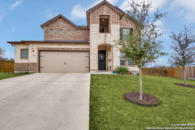 Cibolo Single Family Home New: 328 Sunset Vis