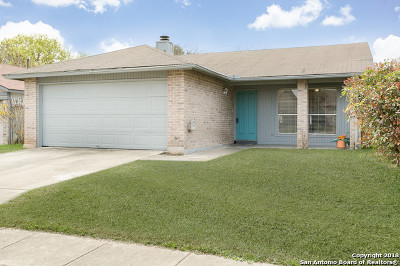 San Antonio Single Family Home New: 7415 Barnsley