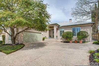 San Antonio Single Family Home New: 101 Bristol Green