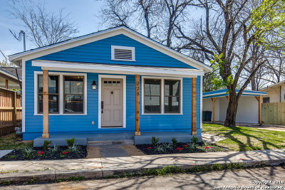 San Antonio Single Family Home New: 228 Sherman