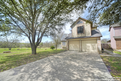 Converse Single Family Home Back on Market: 7931 Comanche Pass