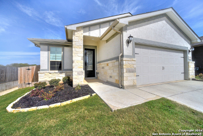 San Antonio Single Family Home New: 12603 Delcia Trail