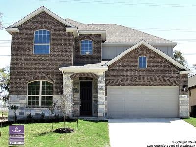 San Antonio Single Family Home New: 5046 Segovia Way