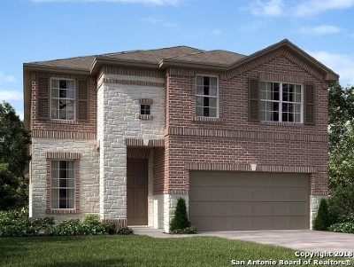 San Antonio Single Family Home New: 12935 Renley Crest