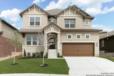 San Antonio Single Family Home New: 23019 Woodlawn Ridge