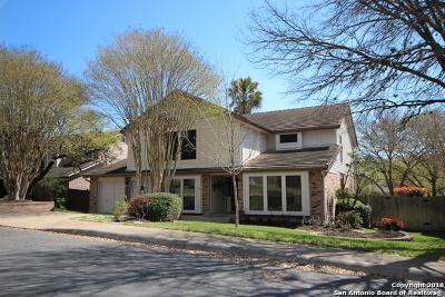 San Antonio Single Family Home New: 15910 Mission Ridge