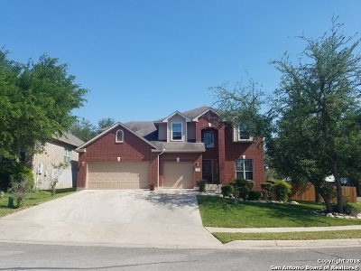 Cibolo Single Family Home New: 164 Brush Trail Ln