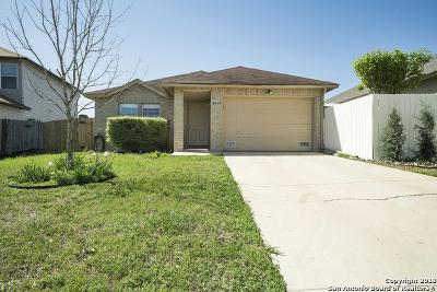 Converse Single Family Home New: 6415 Flatstone Pass