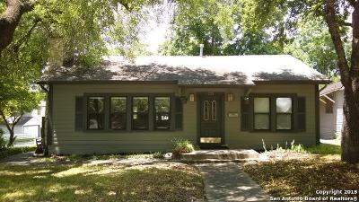 San Antonio Single Family Home New: 333 Normandy Ave