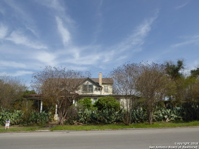 Bexar County Single Family Home Back on Market: 437 W Magnolia Ave