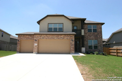 Cibolo Single Family Home New: 509 Saddle Villa