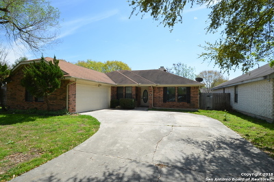Schertz Single Family Home For Sale: 1212 Idlewood