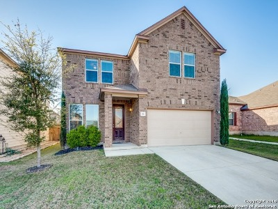 Cibolo Single Family Home New: 116 Hinge Chase
