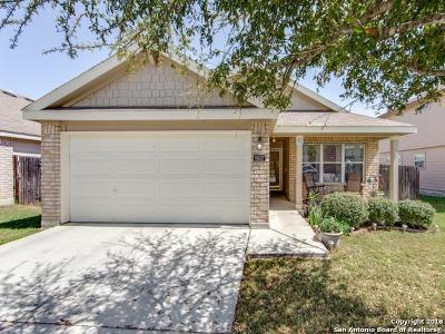 Converse Single Family Home New: 8607 Cheyenne Bluff