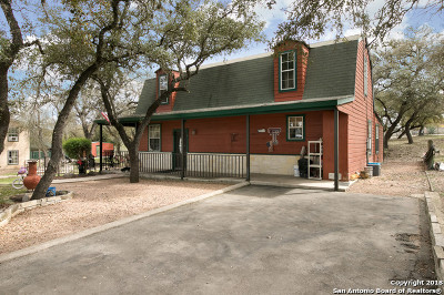 Bandera County Single Family Home For Sale: 3712 Bump Gate Rd