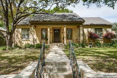 Alamo Heights Single Family Home New: 113 Rosemary Ave