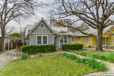 San Antonio Single Family Home New: 218 Blue Bonnet Blvd