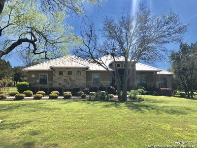New Braunfels Single Family Home New: 2628 Wolf Lair