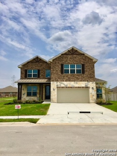 Cibolo Single Family Home New: 717 Silver Fox