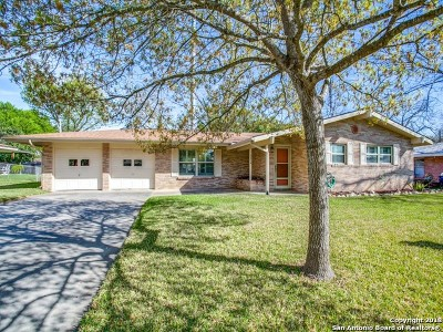 Windcrest Single Family Home New: 5614 Crosswind Dr