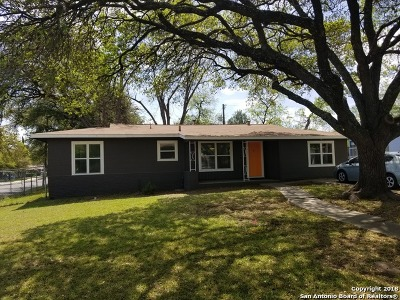 San Antonio TX Single Family Home New: $154,000