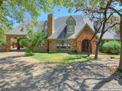 Boerne Single Family Home New: 8502 Fairway Green Dr