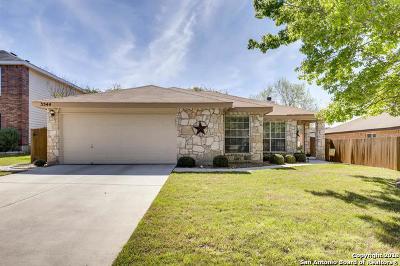 Schertz Single Family Home New: 3544 Peachtree Ln