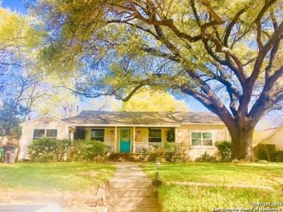 San Antonio Single Family Home New: 209 Larchmont Dr