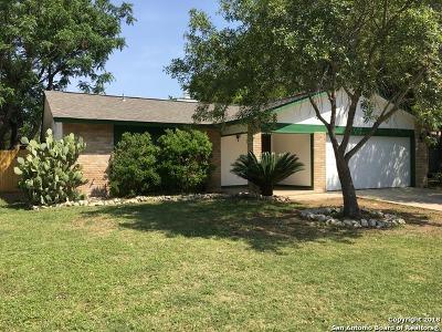 San Antonio TX Single Family Home Price Change: $164,900
