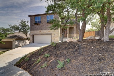 San Antonio Single Family Home New: 1614 Mountain Crest