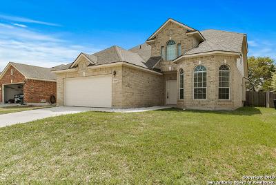 San Antonio Single Family Home New: 26039 Indian Clf