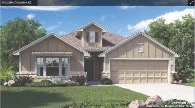 Schertz Single Family Home New: 8716 Stackstone